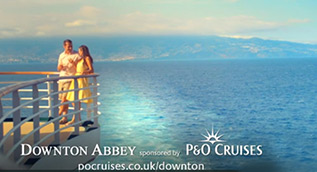 "P&O Cruises sponsors Downton Abbey - ""Cocktails"""
